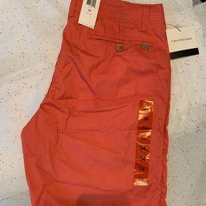 NWT Calvin Klein men's 34 shorts
